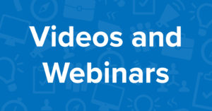 Collateral - Videos and Webinars