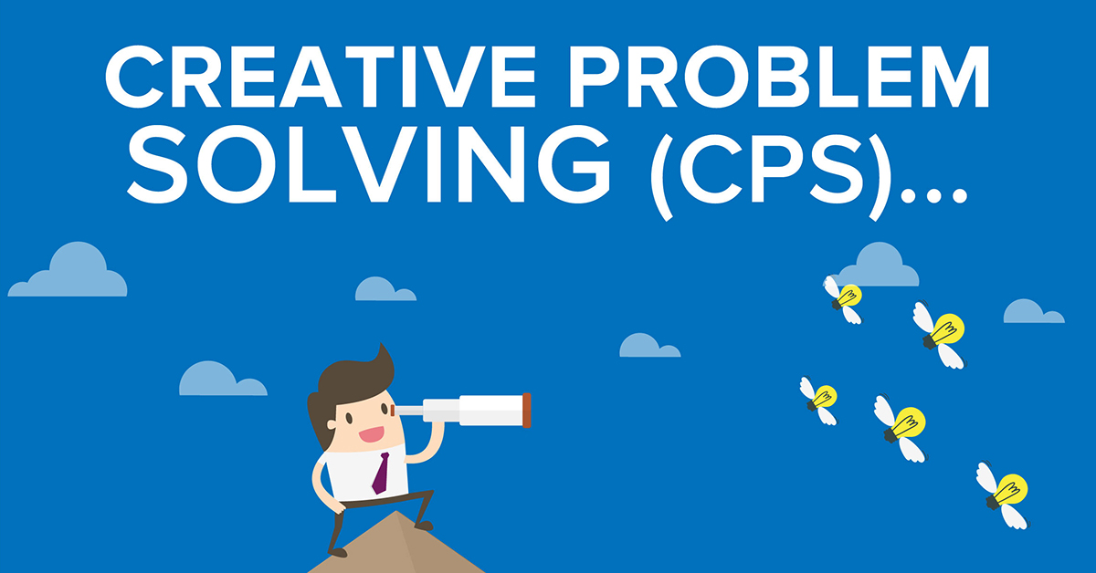 Creative Problem Solving (CPS) Infographic