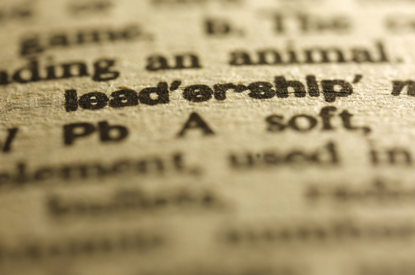 The Difficulties of Defining Leadership