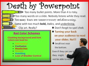 5 Ways to Avoid Death by PowerPoint Presentation