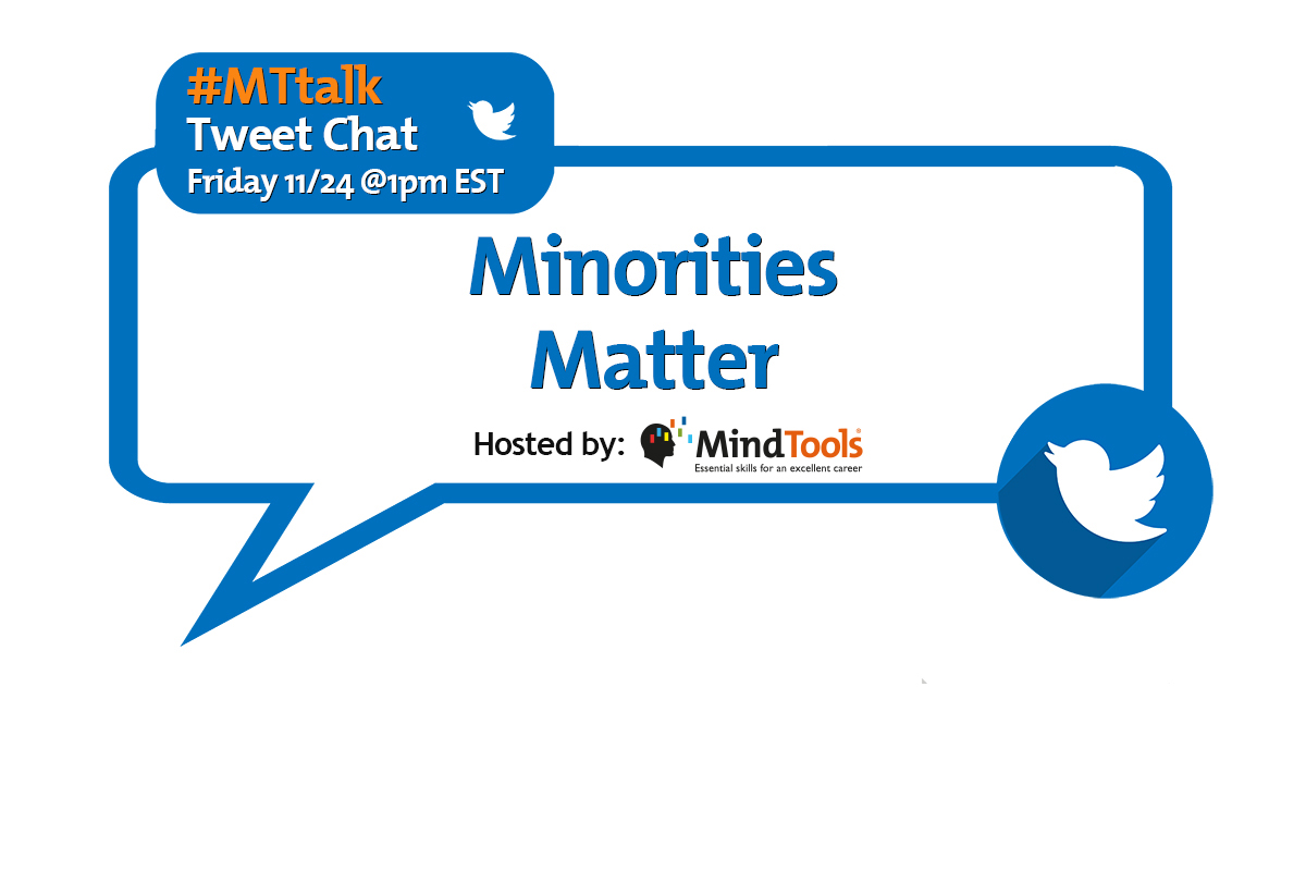 Minorities Matter! Join Our #MTtalk