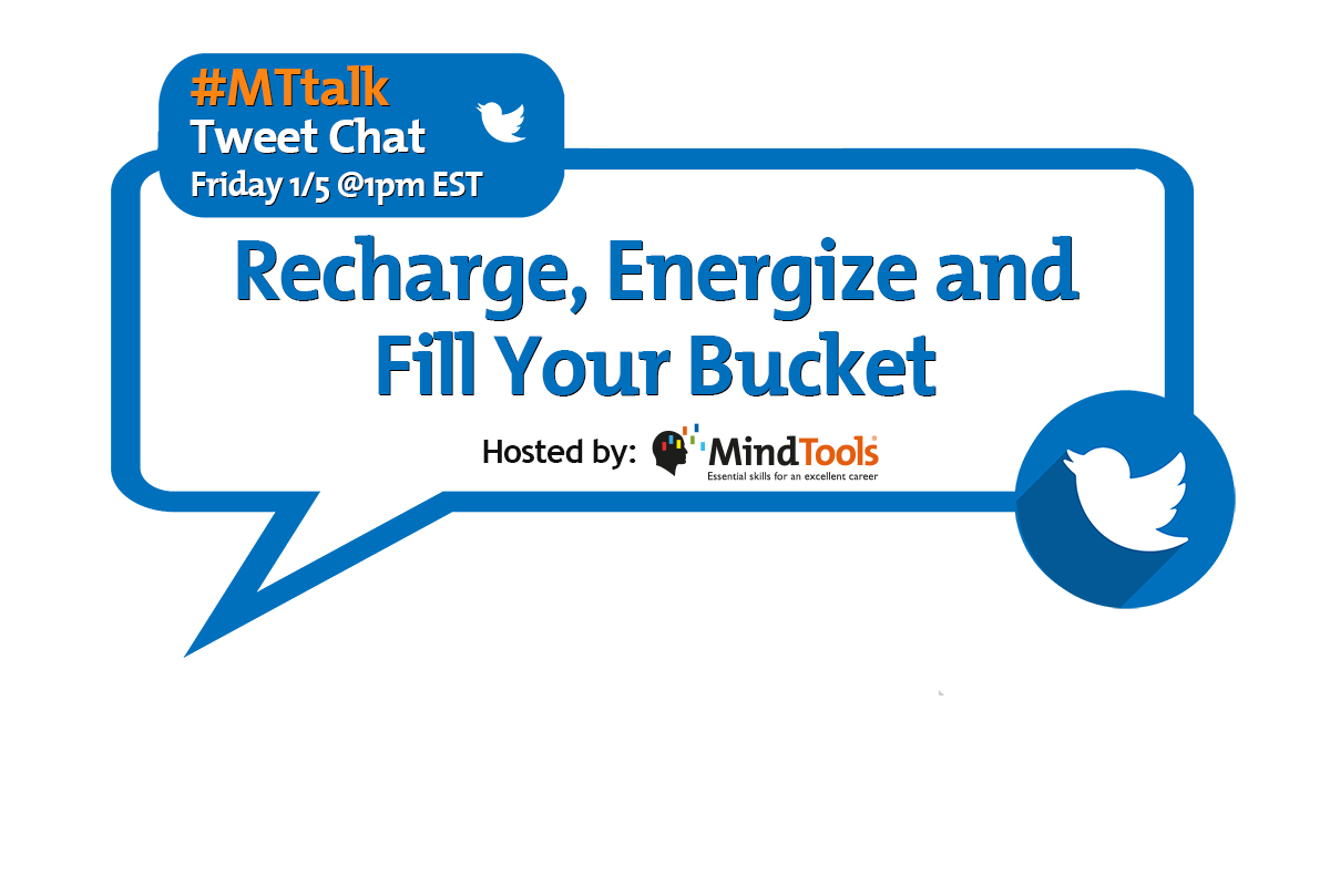 Recharge, Energize and Fill Your Bucket