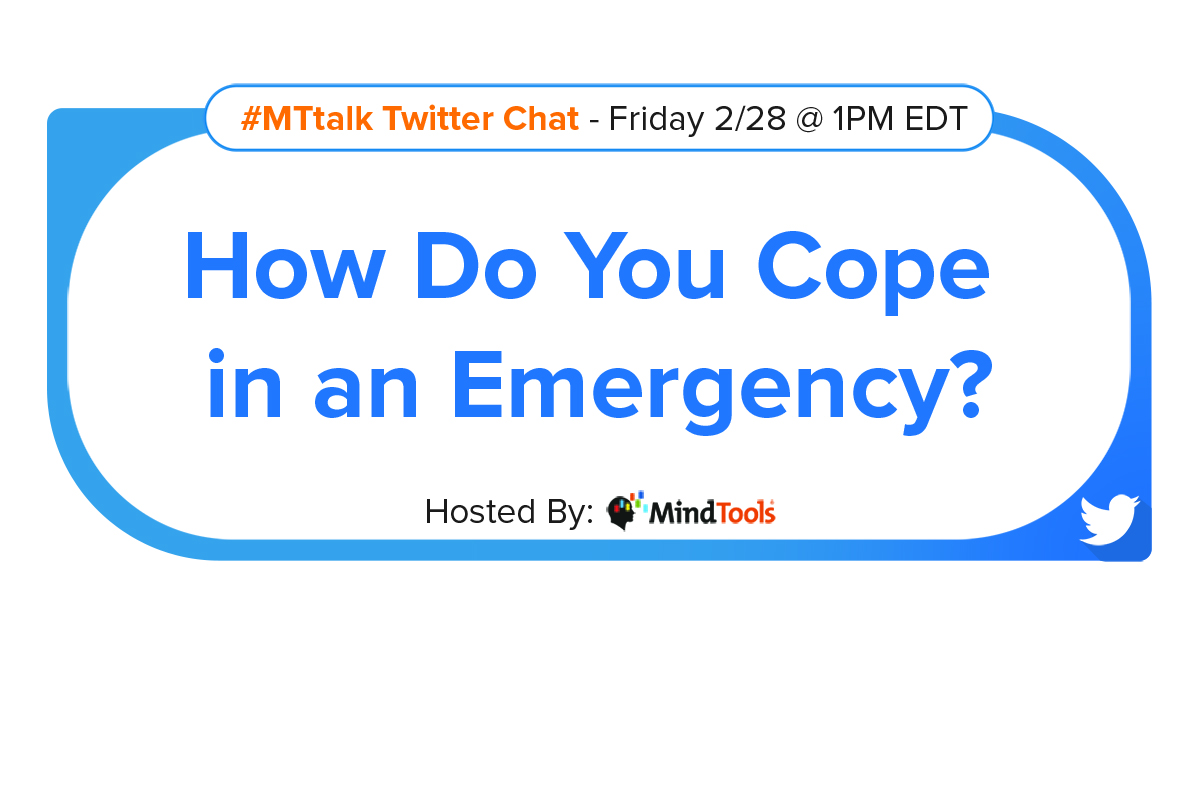 How Do You Cope in an Emergency?