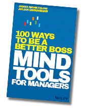 Mind Tools for Managers: 100 Ways to be a Better Boss cover