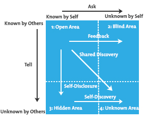 The moment of truth the johari window using self for Window quadrant