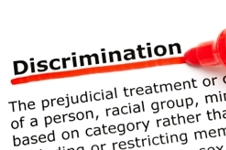 Definition of discrimination.