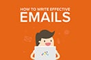 How to Write Effective Emails Infographic