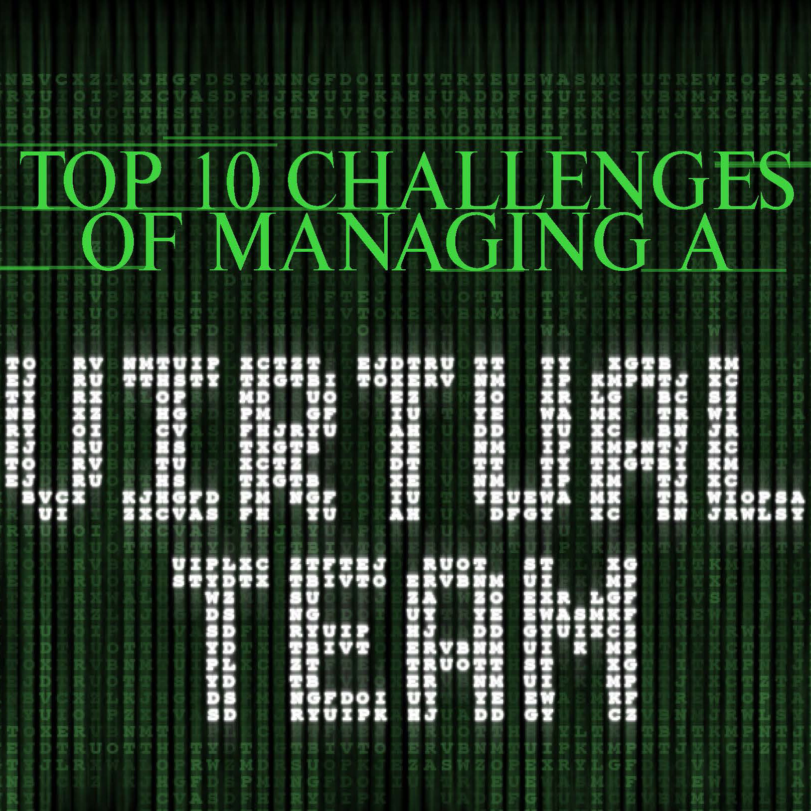 Top 10 Challenges of Managing a Virtual Team