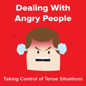 Dealing With Angry People Infographic