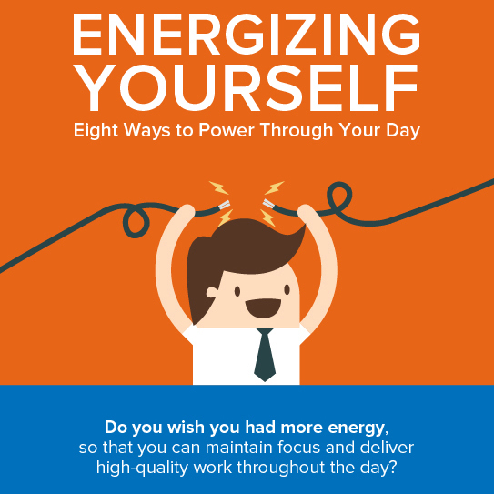 Energizing Yourself infographic