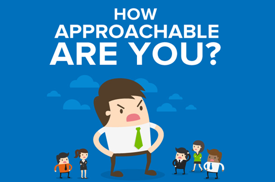 How Approachable Are You Infographic