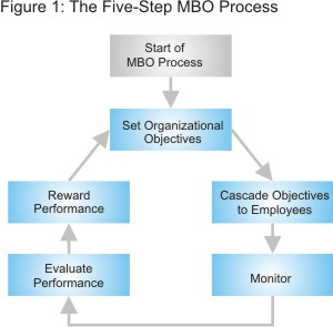 Aligning objectives with the goals of the organization for Manage by objective template