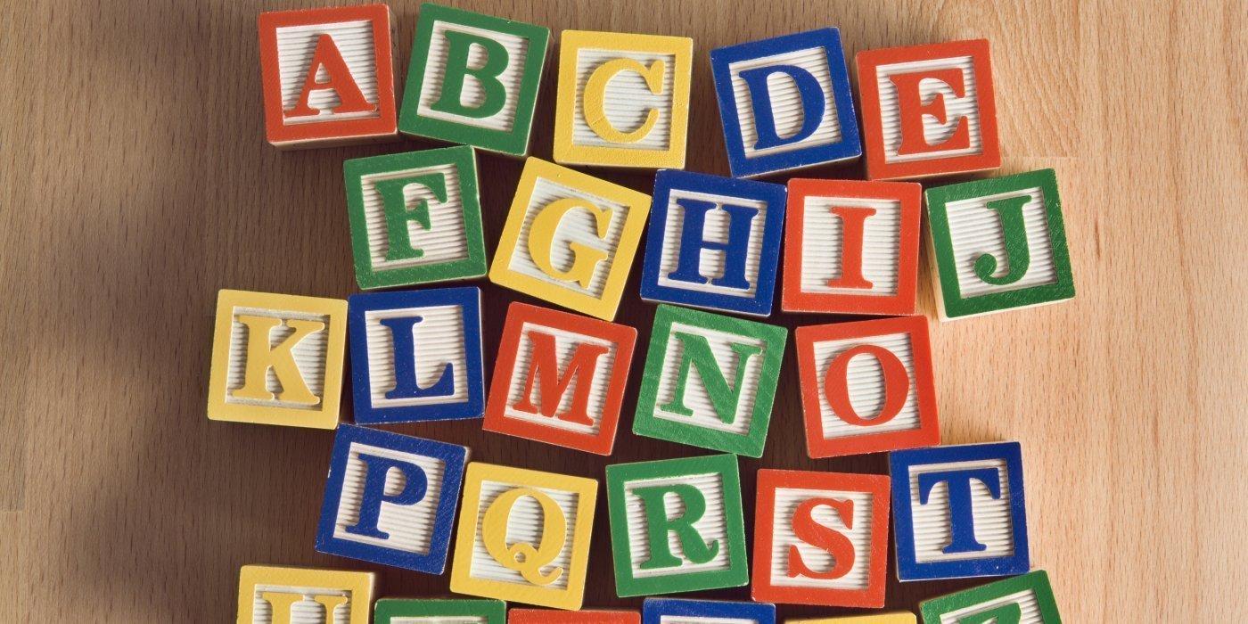 alphabet names
