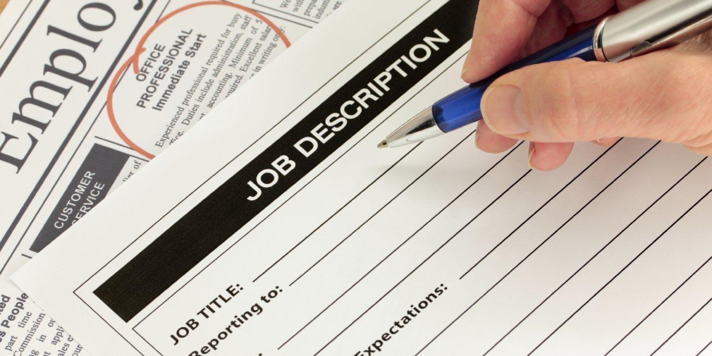 how to write a job description video